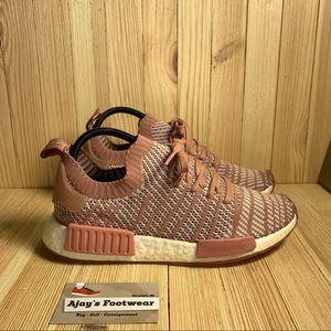 Adidas Nmd R1 STLT Primeknit Ash Pink Womens Shoes